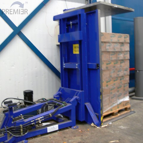 G95 Pallet Inverter fully loaded