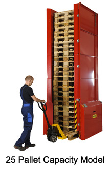 Palomat 001 Pallet Dispenser